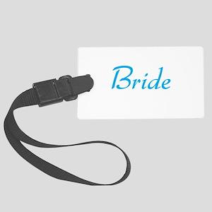 bride-blue Large Luggage Tag