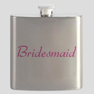 bridesmaid-pink Flask