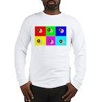 Andy Warhola Bagels Long Sleeve T-Shirt