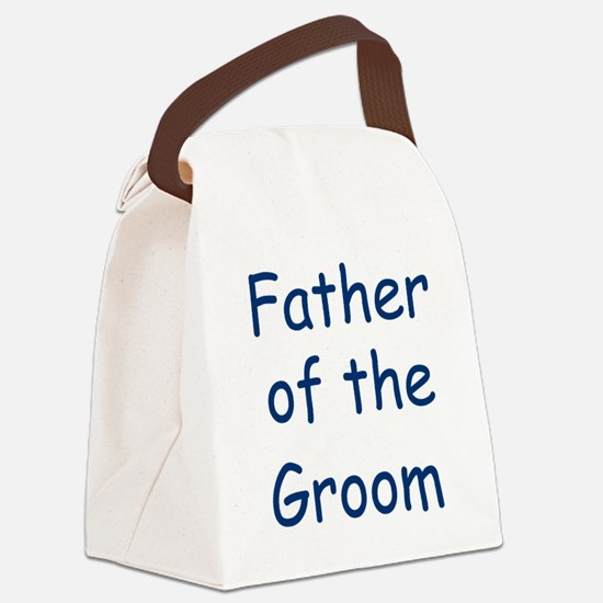 father-of-the-groom,blue.png Canvas Lunch Bag