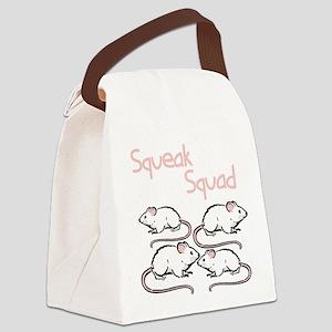 squeak-squad Canvas Lunch Bag