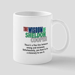 Sheldon Cooper's Visionary Quote Mug