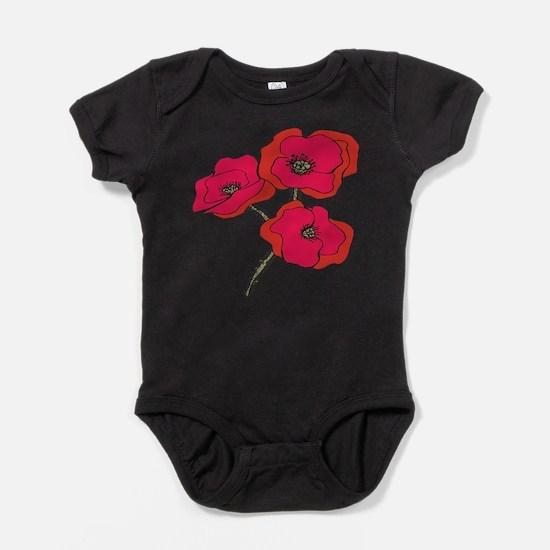 poppy.png Baby Bodysuit