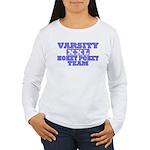 Varsity Hokey Pokey Team Women's Long Sleeve T-Shi