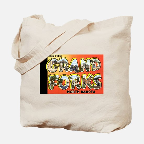 Grand Forks North Dakota Tote Bag