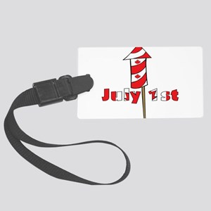 canada-day,-july-1 Large Luggage Tag