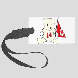 canadian-bear Large Luggage Tag