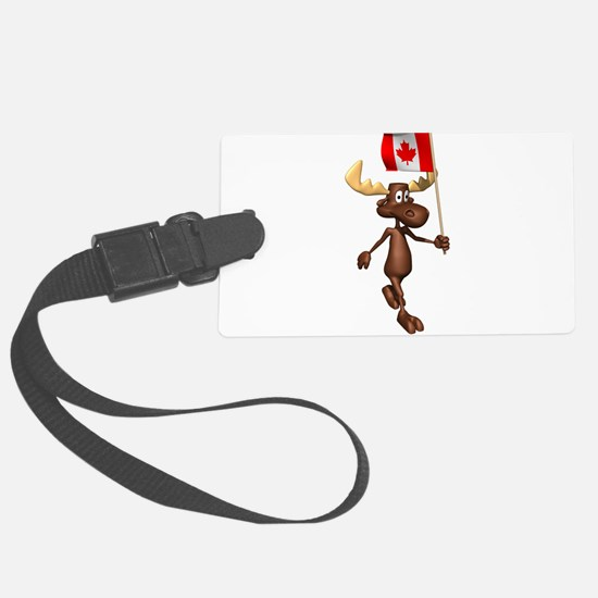 Canadian-Moose.png Luggage Tag