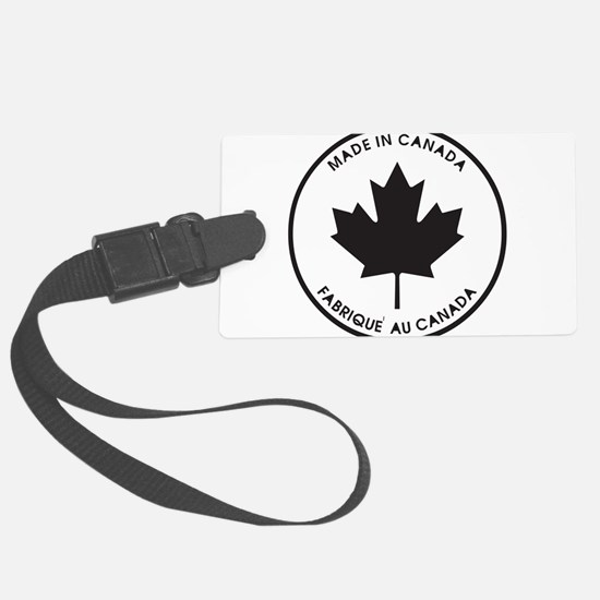 made-in-canada,black.png Luggage Tag