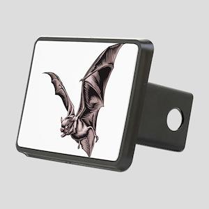 bat-flying Rectangular Hitch Cover