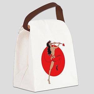 she_devil Canvas Lunch Bag