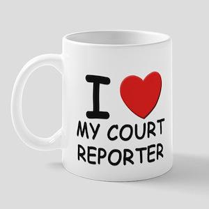 I love court reporters Mug