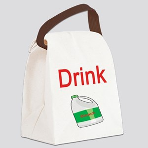 drink-bleach Canvas Lunch Bag