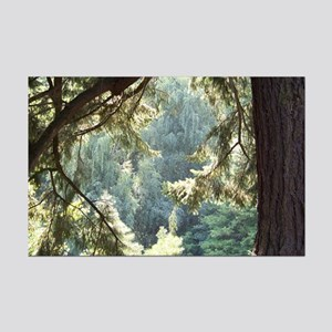 A View Through Trees Mini Poster Print