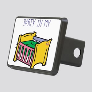 PARTY-IN-MY-CRIB,B Rectangular Hitch Cover
