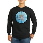 Target Cupid Long Sleeve Dark T-Shirt