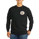 Shriners Circle Long Sleeve Dark T-Shirt