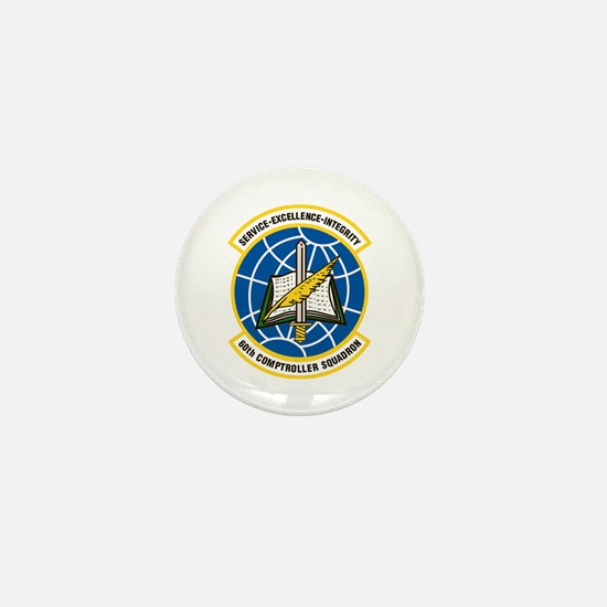 60th Comptroller Mini Button