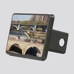 Minneapolis Mississippi Bridges Hitch Cover