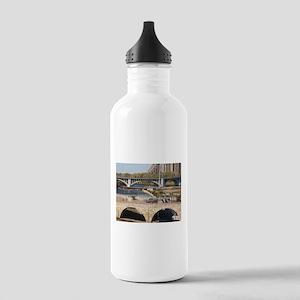 Minneapolis Mississippi Bridges Water Bottle