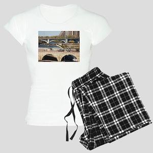 Minneapolis Mississippi Bridges Pajamas
