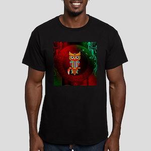 Wonderful owl, mandala design, colorful T-Shirt