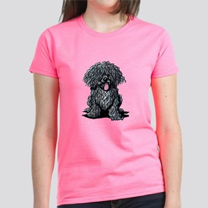 Black Puli Women's Dark T-Shirt