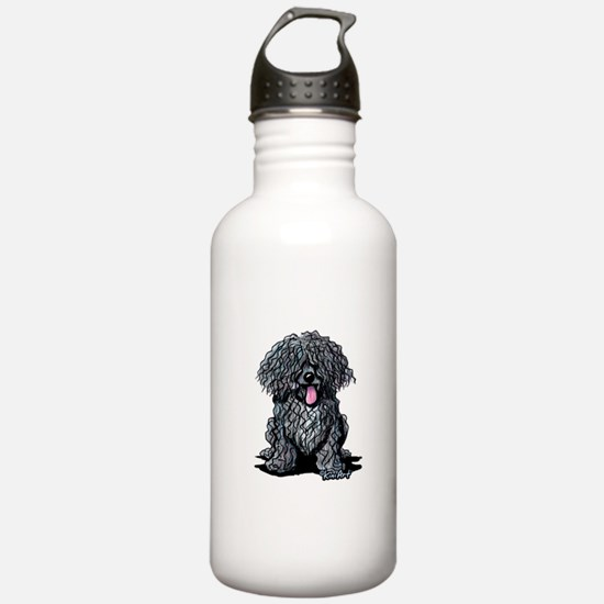 Black Puli Water Bottle