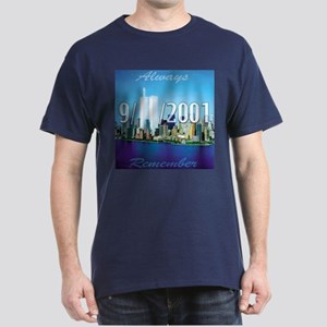 Always Remember 9/11 Dark T-Shirt