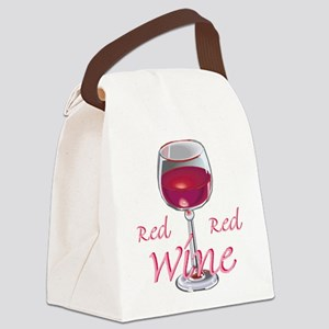wine,red wine,red red wine Canvas Lunch Bag