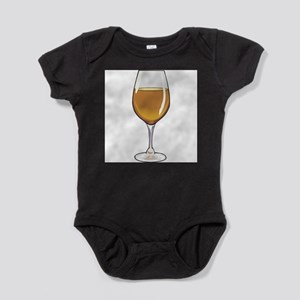 3-wine,brown Baby Bodysuit