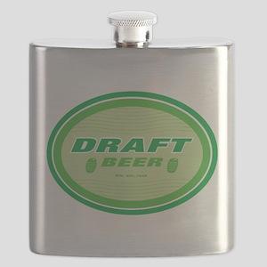 beer,draft beer sign Flask