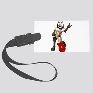 ROCKER-DUDE,PNG Large Luggage Tag