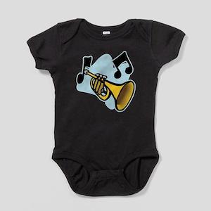 trumpet,png Baby Bodysuit