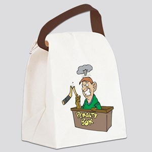 penalty-box Canvas Lunch Bag