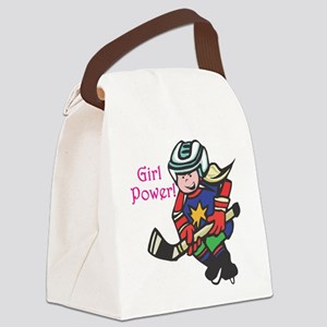 girl-power Canvas Lunch Bag