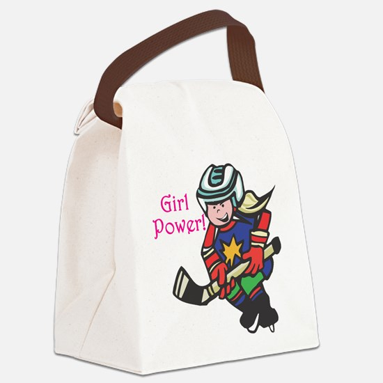 girl-power.png Canvas Lunch Bag