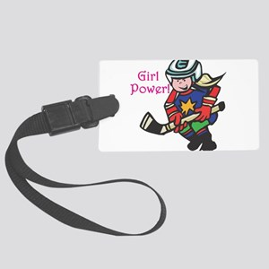 girl-power Large Luggage Tag