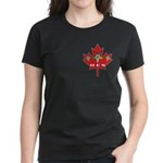 OES Canadian Maple Leaf Women's Dark T-Shirt