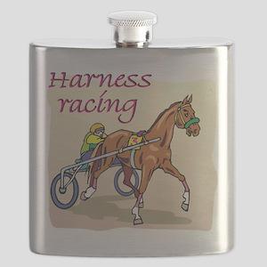 harness racing glow Flask