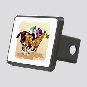 horse racing Rectangular Hitch Cover