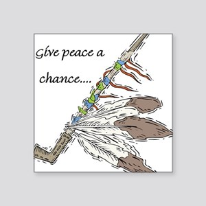 indian feather peace pipe,give peace a chance