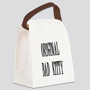 original-bad-kitty,PNG Canvas Lunch Bag