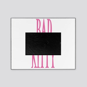 BADKITTY,-WHITEPNG Picture Frame