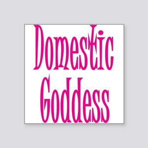 """domestic-goddess-1,png.png Square Sticker 3"""" x 3"""""""