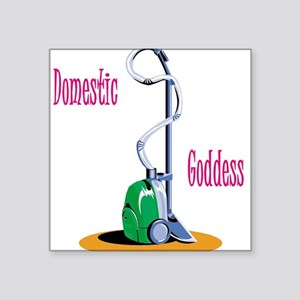 """domestic-goddess-png.png Square Sticker 3"""" x 3"""""""