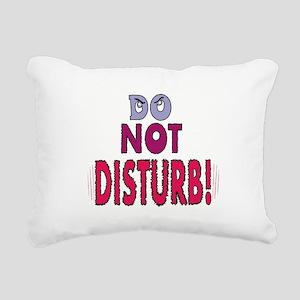 do-not-disturb,png Rectangular Canvas Pillow