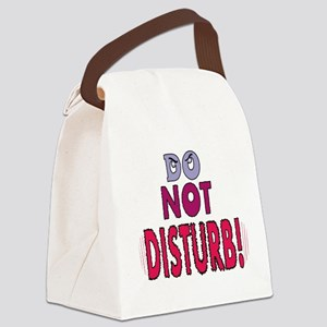 do-not-disturb,png Canvas Lunch Bag