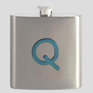 q-tile-blue Flask