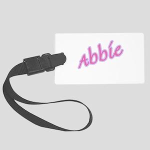 abbie copy Large Luggage Tag